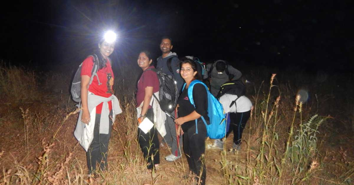 Adventure Pulse Blog Katraj to Sinhagad Trek