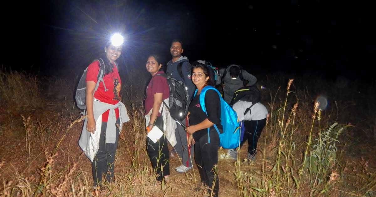 Adventure Pulse team on trekking