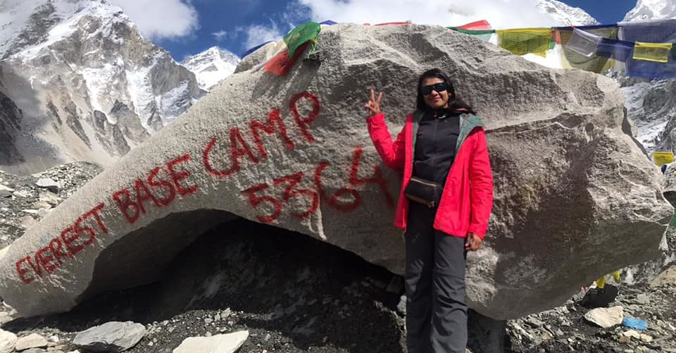 Swati's journey to Everest Base Camp