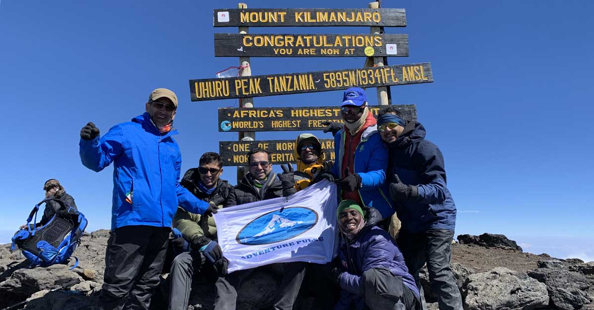 Adventure Pulse Mount Kilimanjaro Expedition