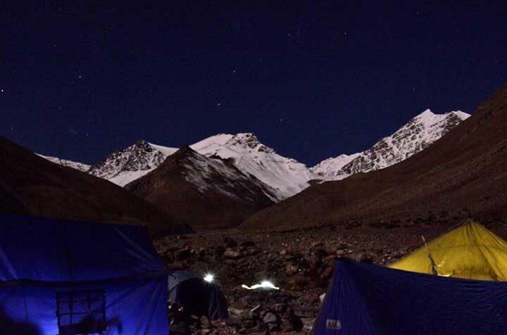 Adventure Pulse Mt Stok Kangri Trek Image of the Mountain Peak