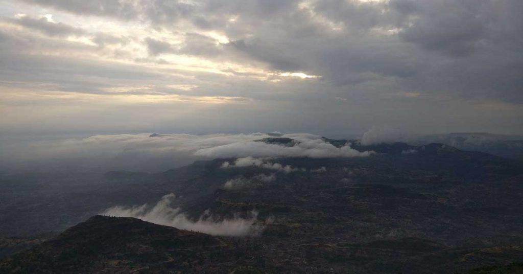 Sunrise from Kalsubai Peak