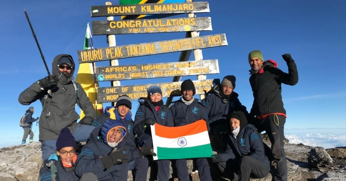 Kilimanjaro Everything about_Adventure-pulse_Pinegrove team at the summit